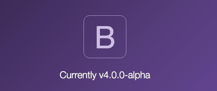 Bootstrap v4 alpha
